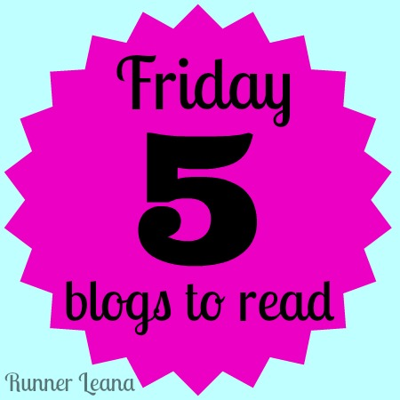 Five Blogs to Read